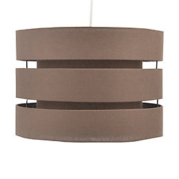 Colours Trio Chocolate Brown Mini 3 Tier Light