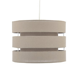 Colours Trio Taupe Mini 3 Tier Light Shade