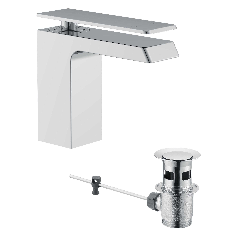 Bathroom Sinks B&Q Ireland cooke & lewis harlyn 1 lever basin mixer tap | departments | diy