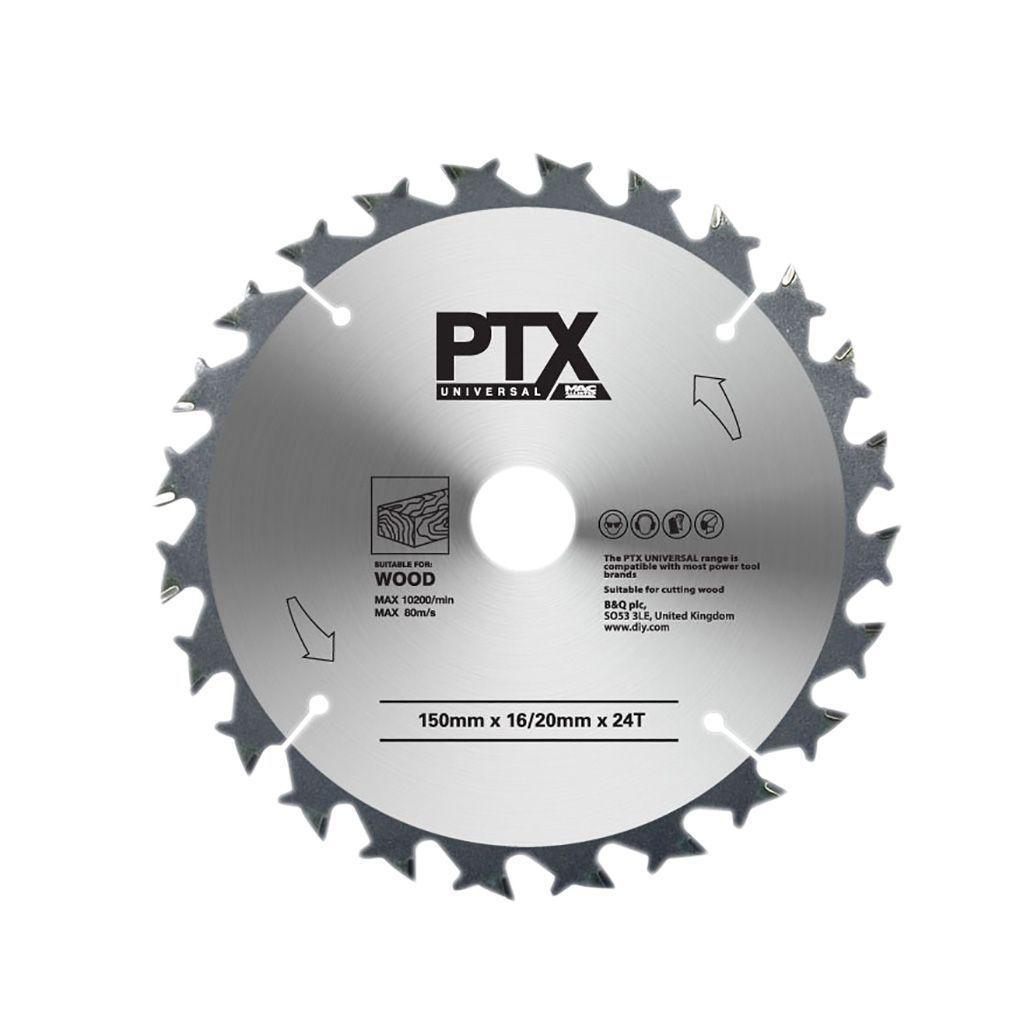 Ptx 24t Circular Saw Blade (dia)150mm