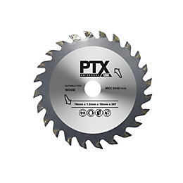 PTX 24T Mini Saw Blade (Dia)76mm