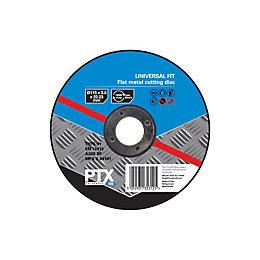 PTX (Dia)115mm Flat Metal Cutting Disc