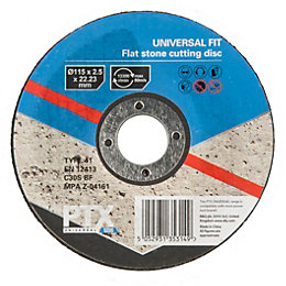 PTX (Dia)115mm Flat Stone Cutting Disc