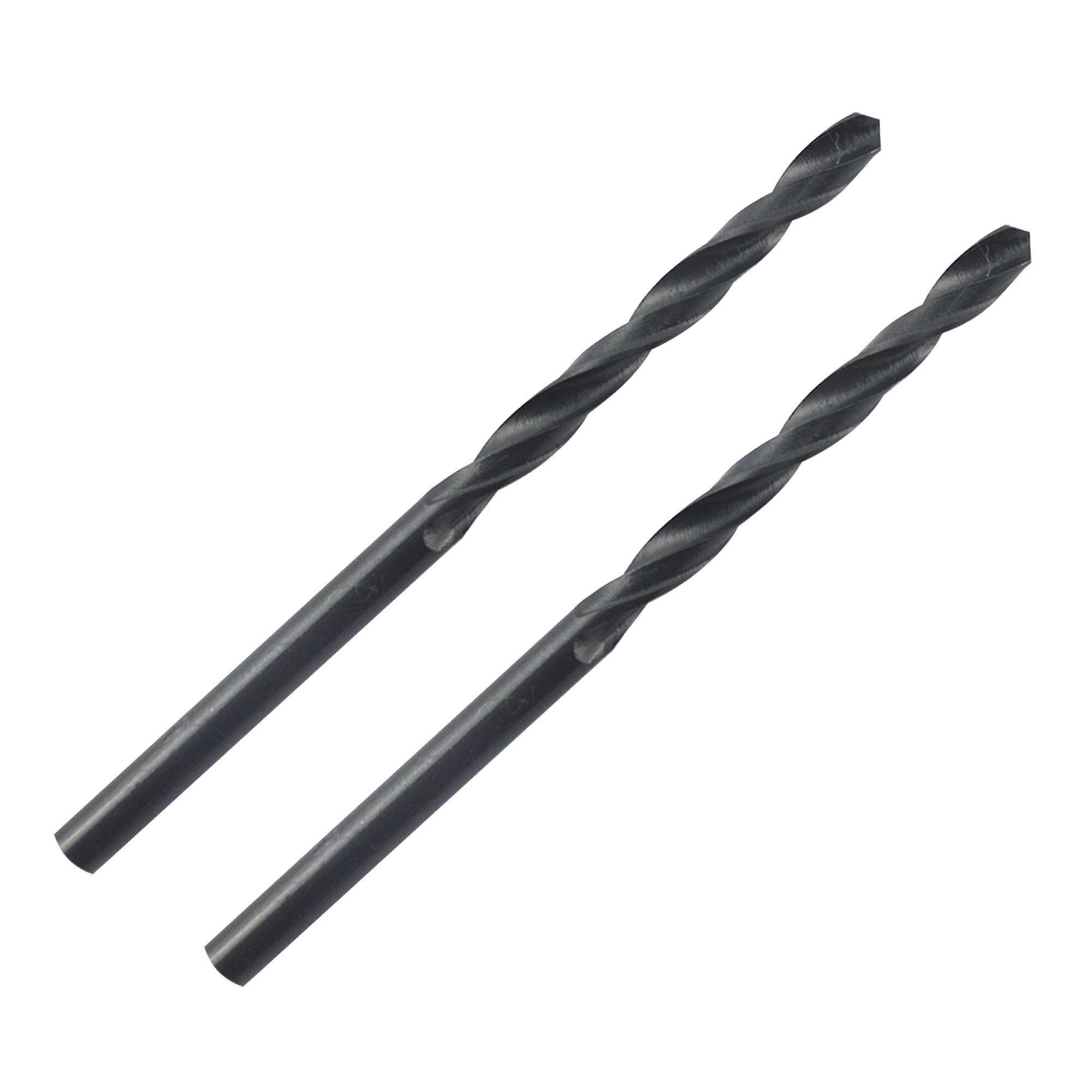 Ptx Steel Hss Drill Bit (dia)4mm (l)75mm, Pack Of 2
