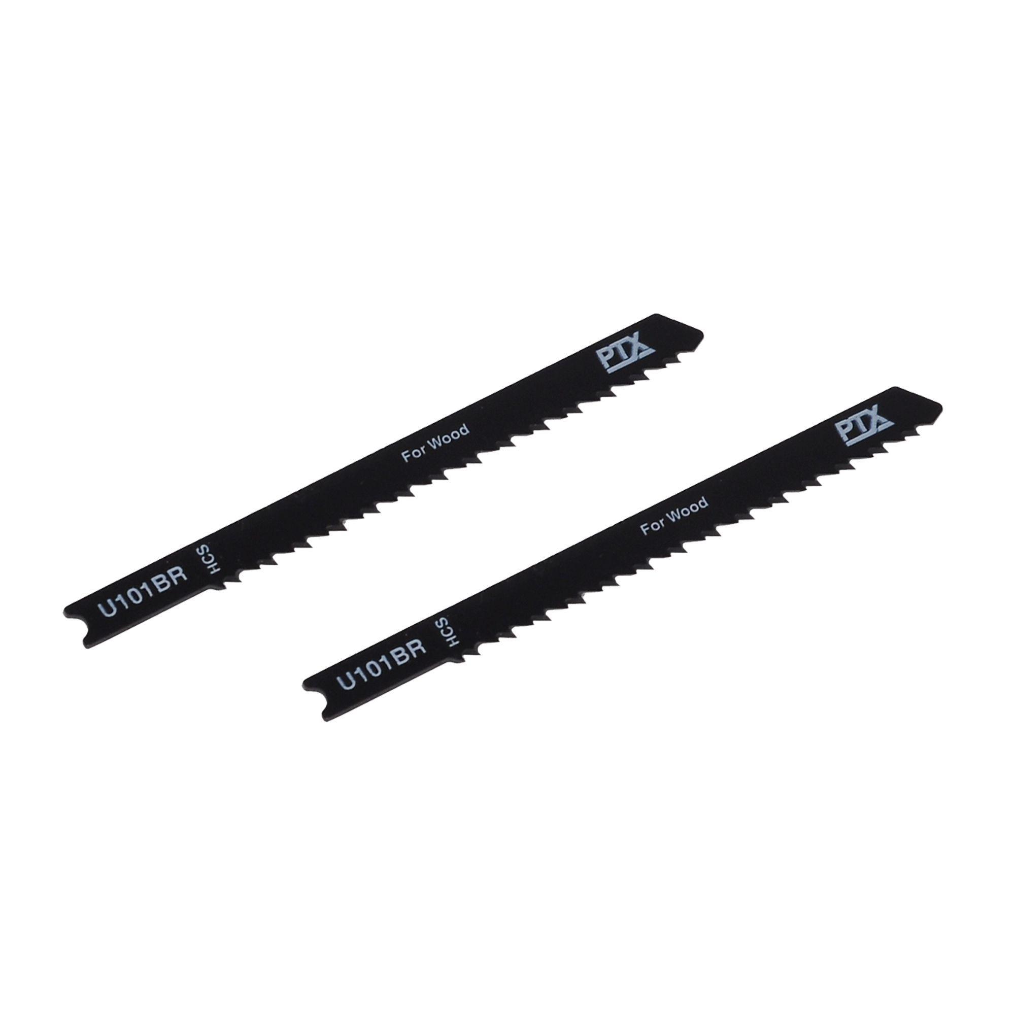 Ptx U-shank Wood Jigsaw Blade U101br 108mm, Pack Of 2