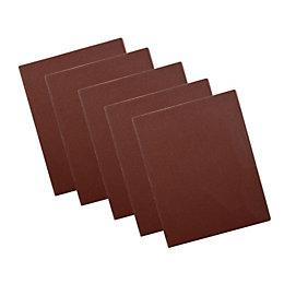 PTX 80 Grit 1/4 Unpunched Sanding Sheet (L)145mm