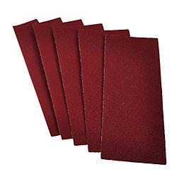 PTX 80 Grit Sanding Sheet (L)230mm (W)93mm, Pack
