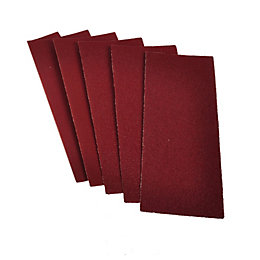 PTX 120 Grit Sanding Sheet (L)280mm (W)115mm, Pack