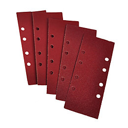 PTX 180 Grit Sanding Sheet (L)185mm (W)93mm, Pack