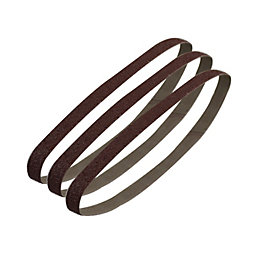 PTX 80 Grit Sanding Belt (W) 13mm (L)