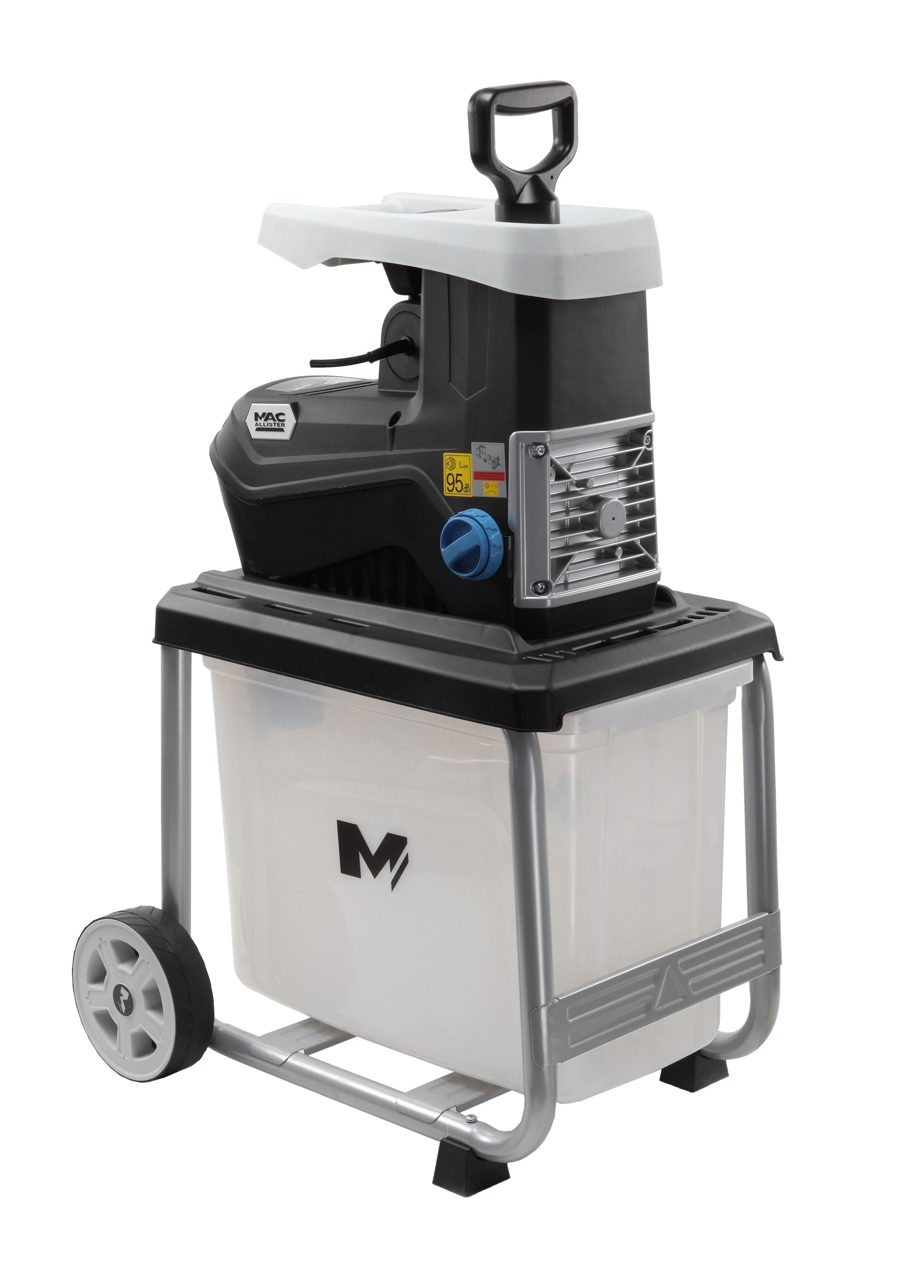 mac allister electric garden shredder departments diy at b q. Black Bedroom Furniture Sets. Home Design Ideas