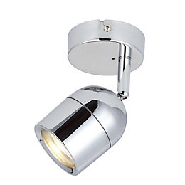 Genlis Chrome Effect Bathroom Spotlight