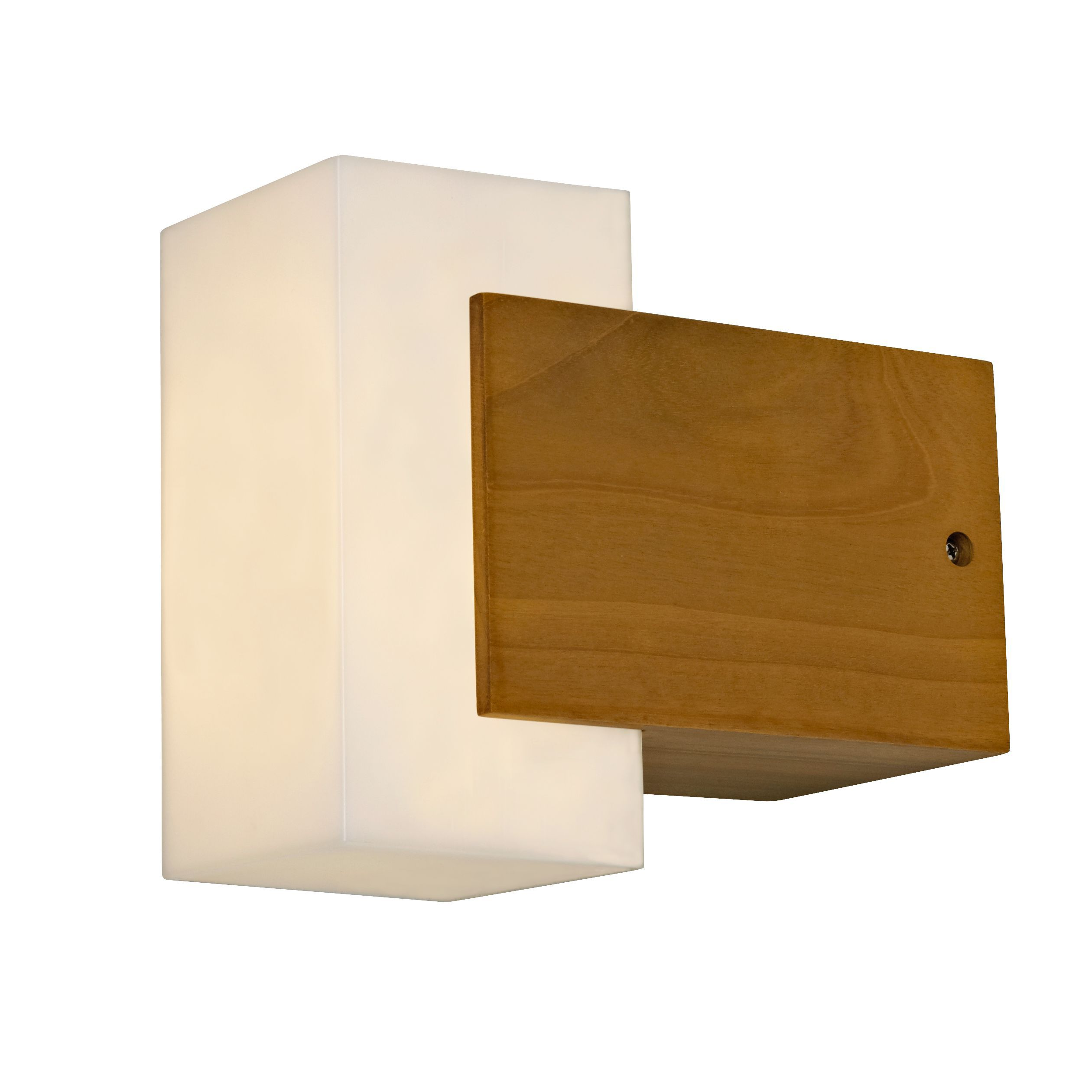 Wall Lamps External : Blooma Conon Natural Mains Powered External Wall Light Departments DIY at B&Q