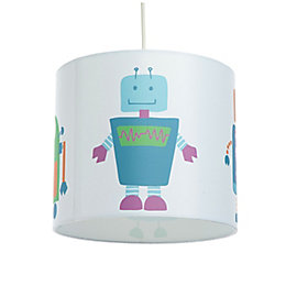 Colours Multicolour Robots Light Shade (D)25cm