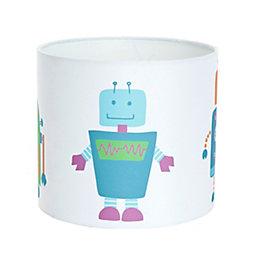 Colours Multicolour Robots Light Shade (D)18cm