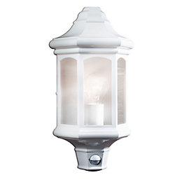 Blooma Carya White Mains Powered External Wall Light