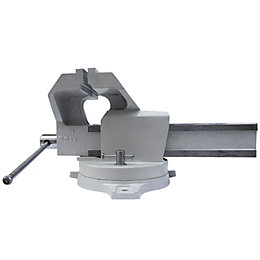 Mac Allister 125mm Workshop Vice with Swivel Base