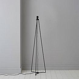 Hioyl Tripod Black Floor Lamp Base