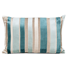 Callie Striped Duck Egg Cushion
