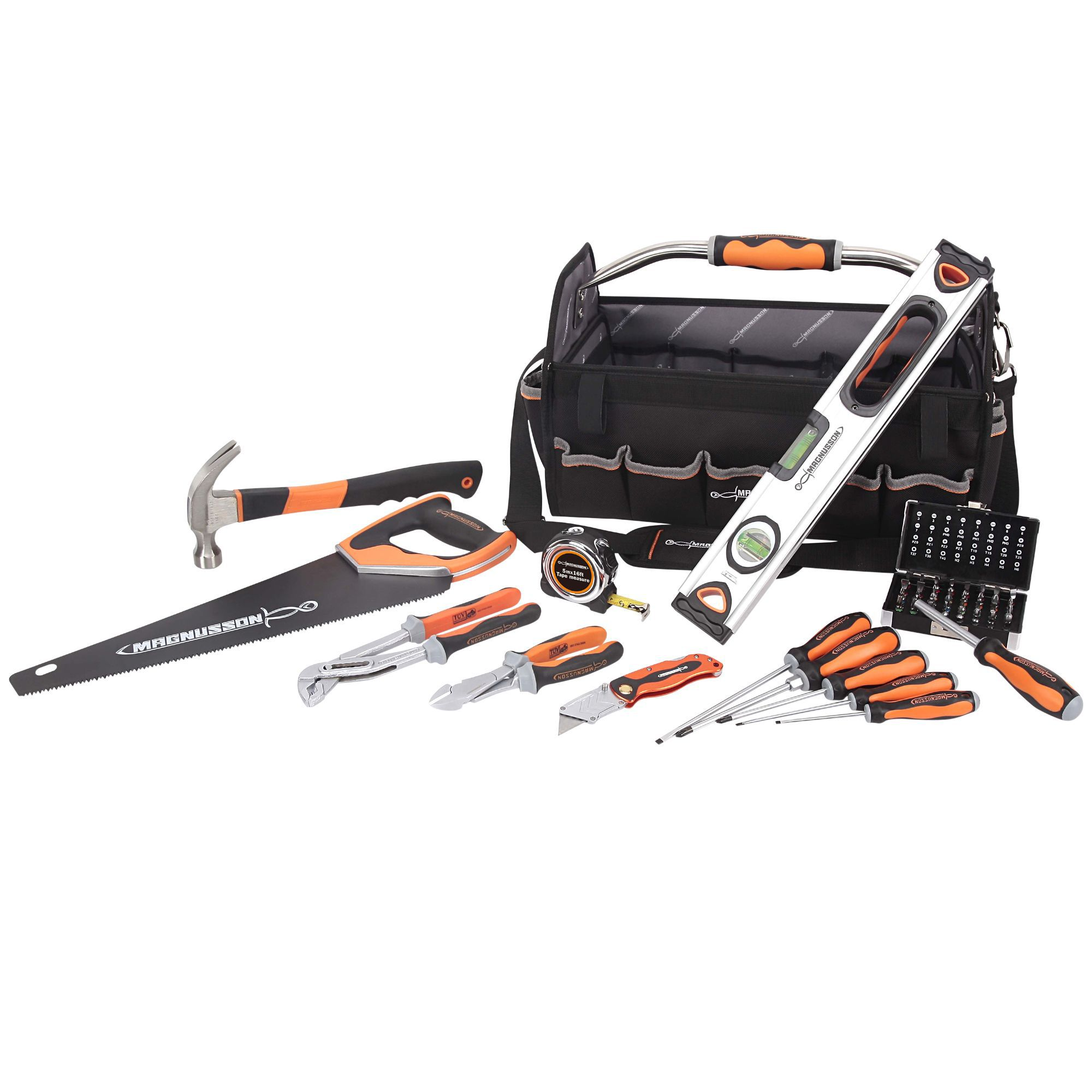 Magnusson 1 Piece Tool Kit Clearance Diy At B Amp Q