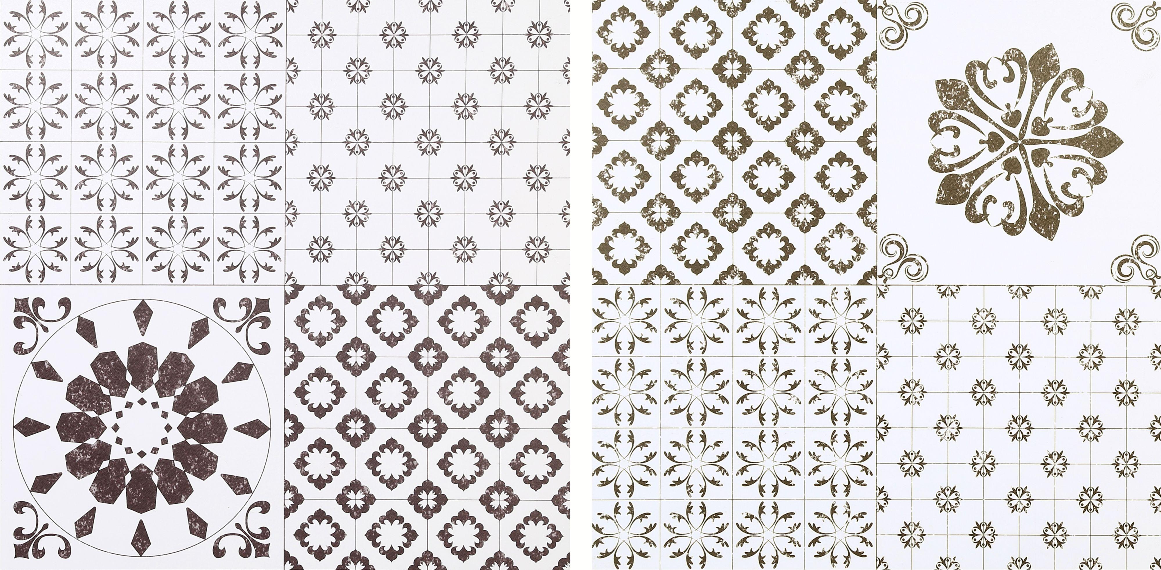 colours black white patchwork effect self adhesive vinyl. Black Bedroom Furniture Sets. Home Design Ideas