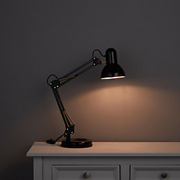 Adjustable Black Desk Lamp