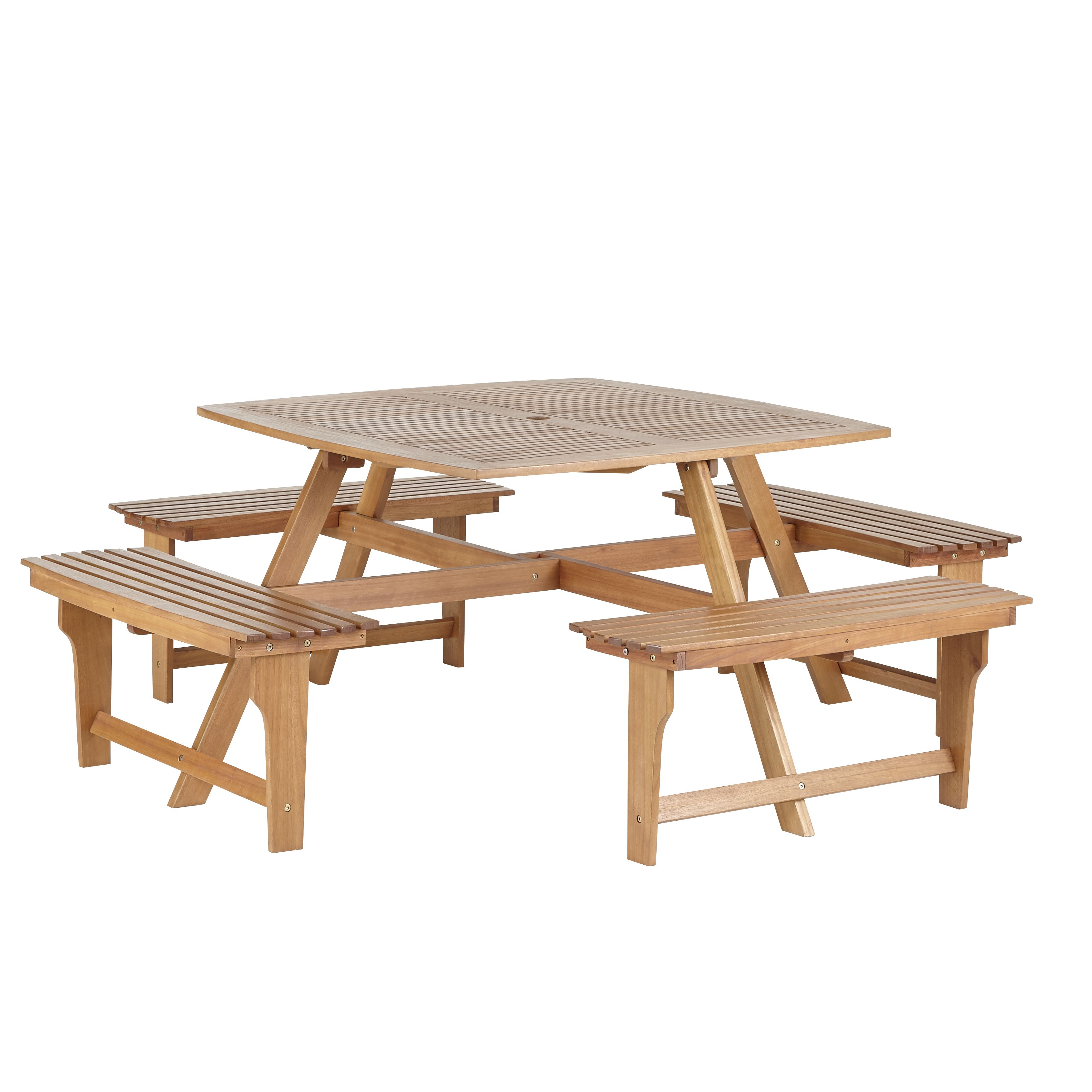 Very Impressive portraiture of Aland Wooden Picnic Bench Departments DIY at B&Q with #53200D color and 3526x3526 pixels
