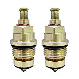 "Brass Tap Gland with Rubber Seal (Thread)1/2"" (Dia)8mm,"