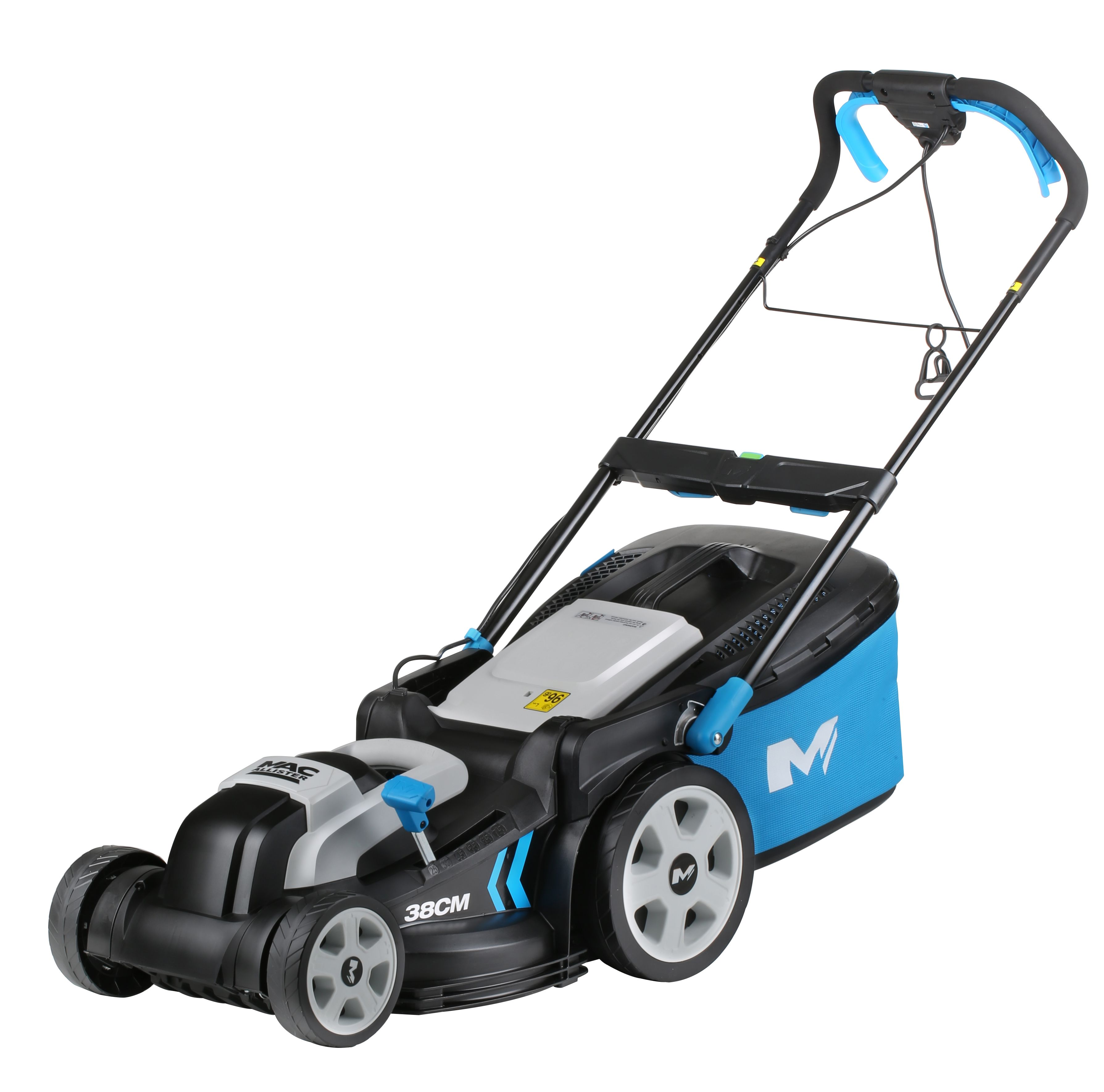 mac allister 1600w corded rotary lawnmower departments diy at b q. Black Bedroom Furniture Sets. Home Design Ideas