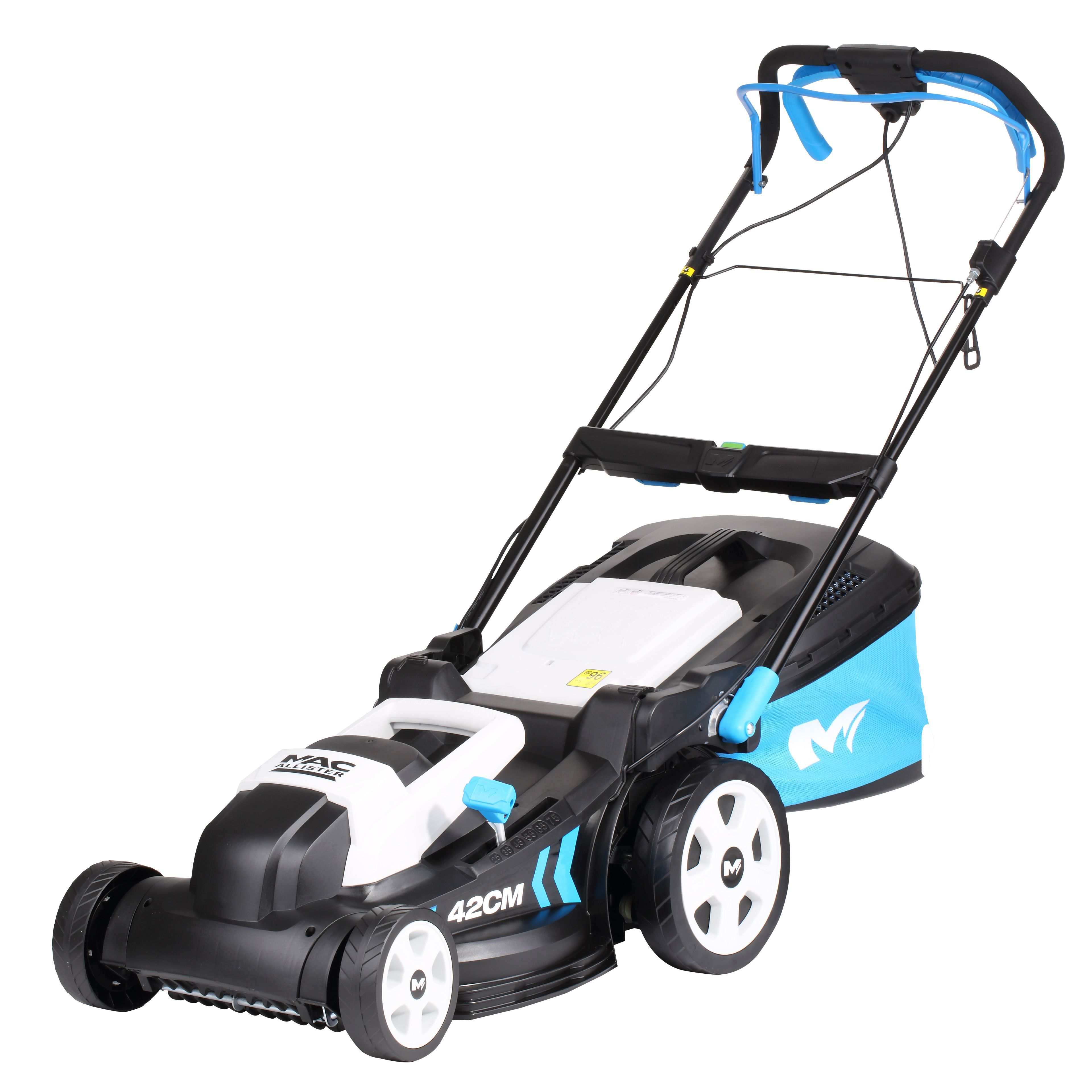mac allister 1800w corded rotary lawnmower departments diy at b q. Black Bedroom Furniture Sets. Home Design Ideas