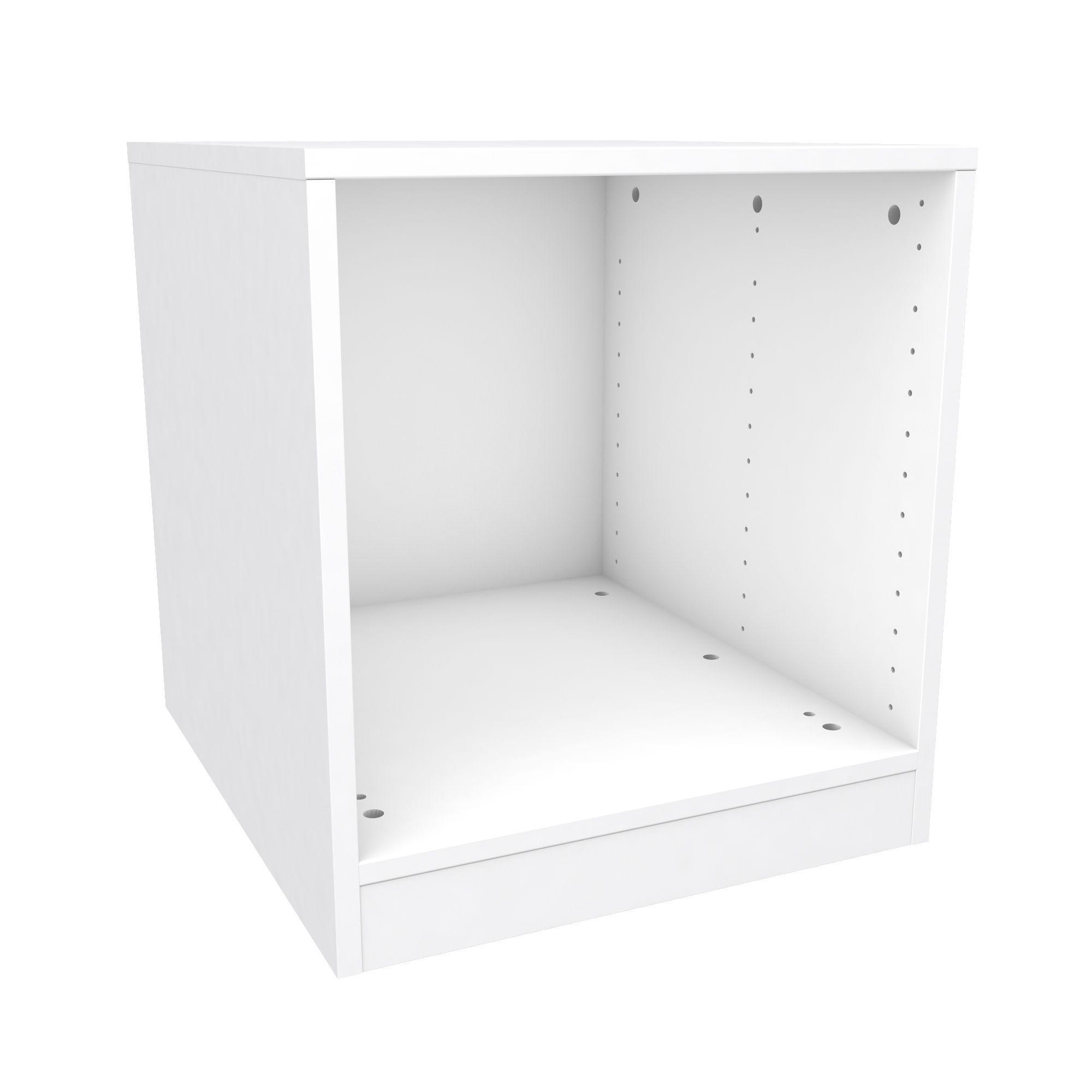 Darwin Modular White Bedside Cabinet (h)546mm (w)500mm (d)566mm