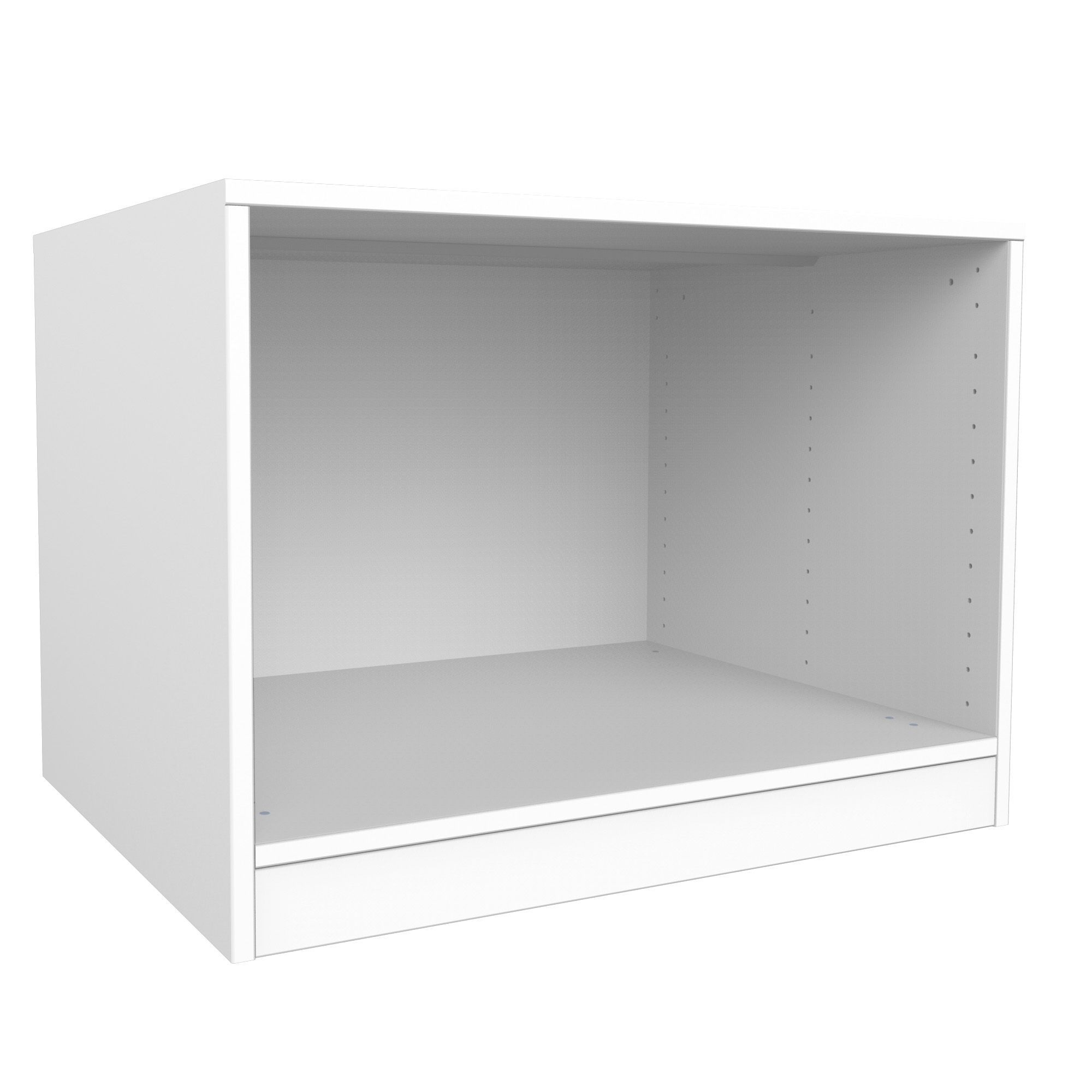 Darwin Modular White Bedside Cabinet (h)546mm (w)750mm (d)566mm