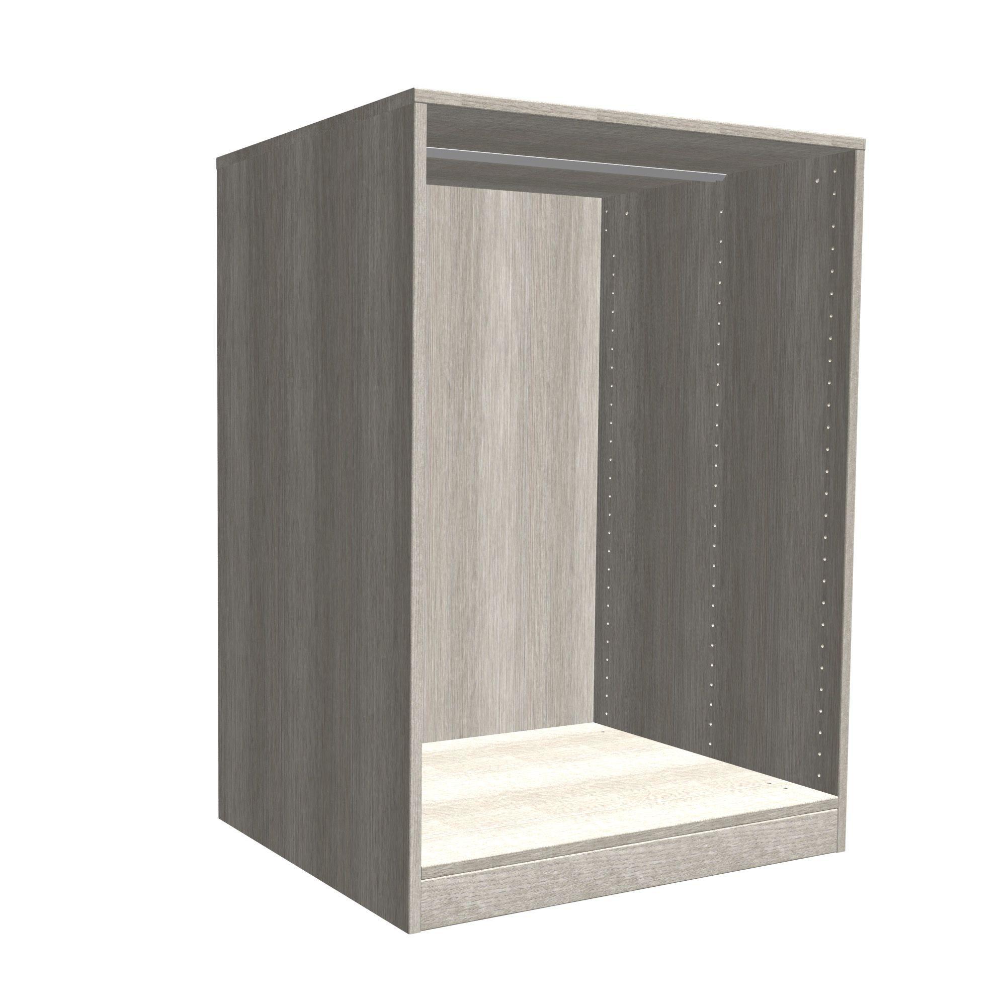 Darwin Modular Grey Oak Effect Chest Cabinet (h)1026mm (w)750mm (d)566mm