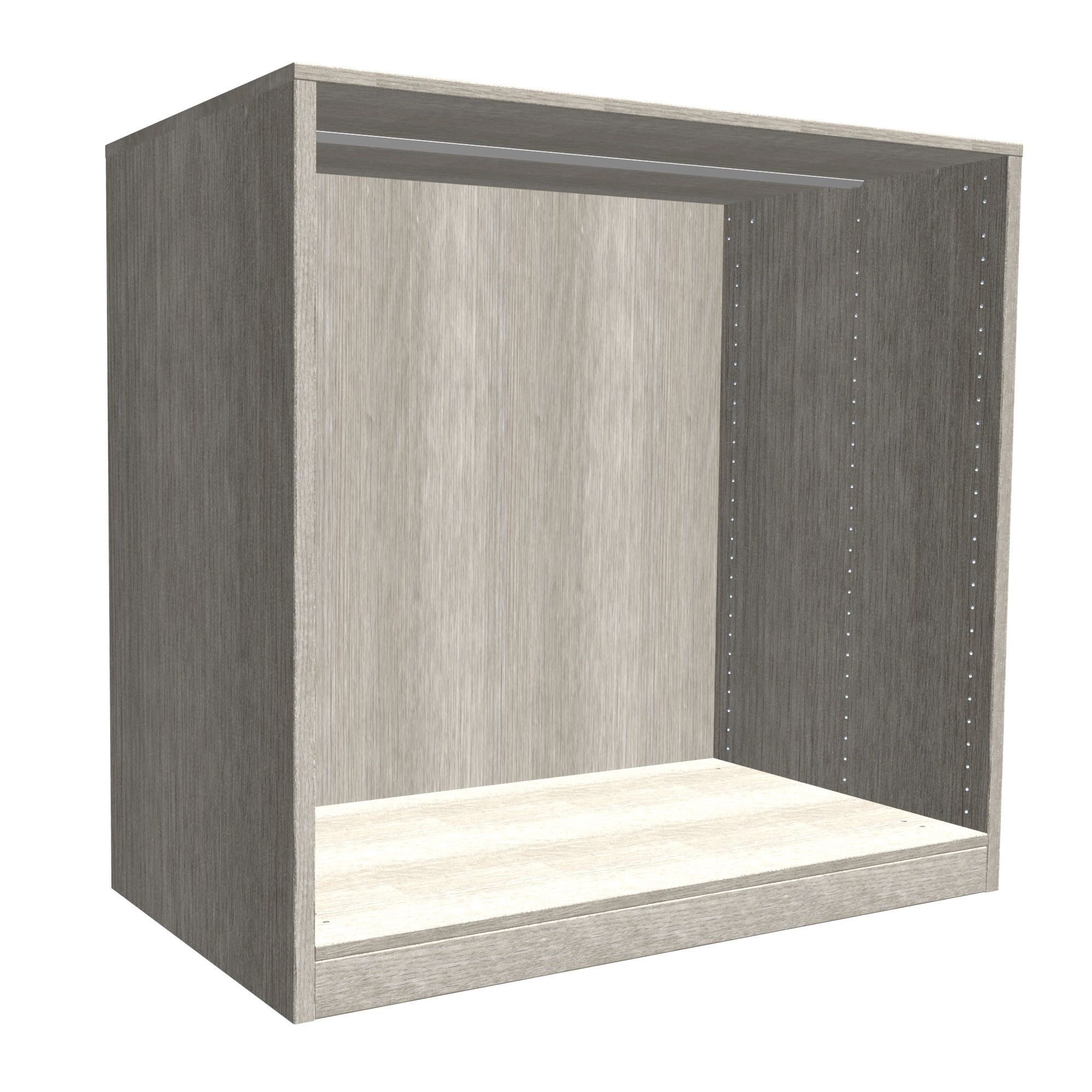 Darwin Modular Grey Oak Effect Chest Cabinet (h)1026mm (w)1000mm (d)566mm