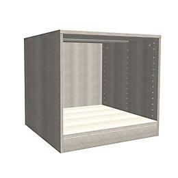 Darwin Modular Oak Effect Bedside Cabinet (H)546mm (W)500mm