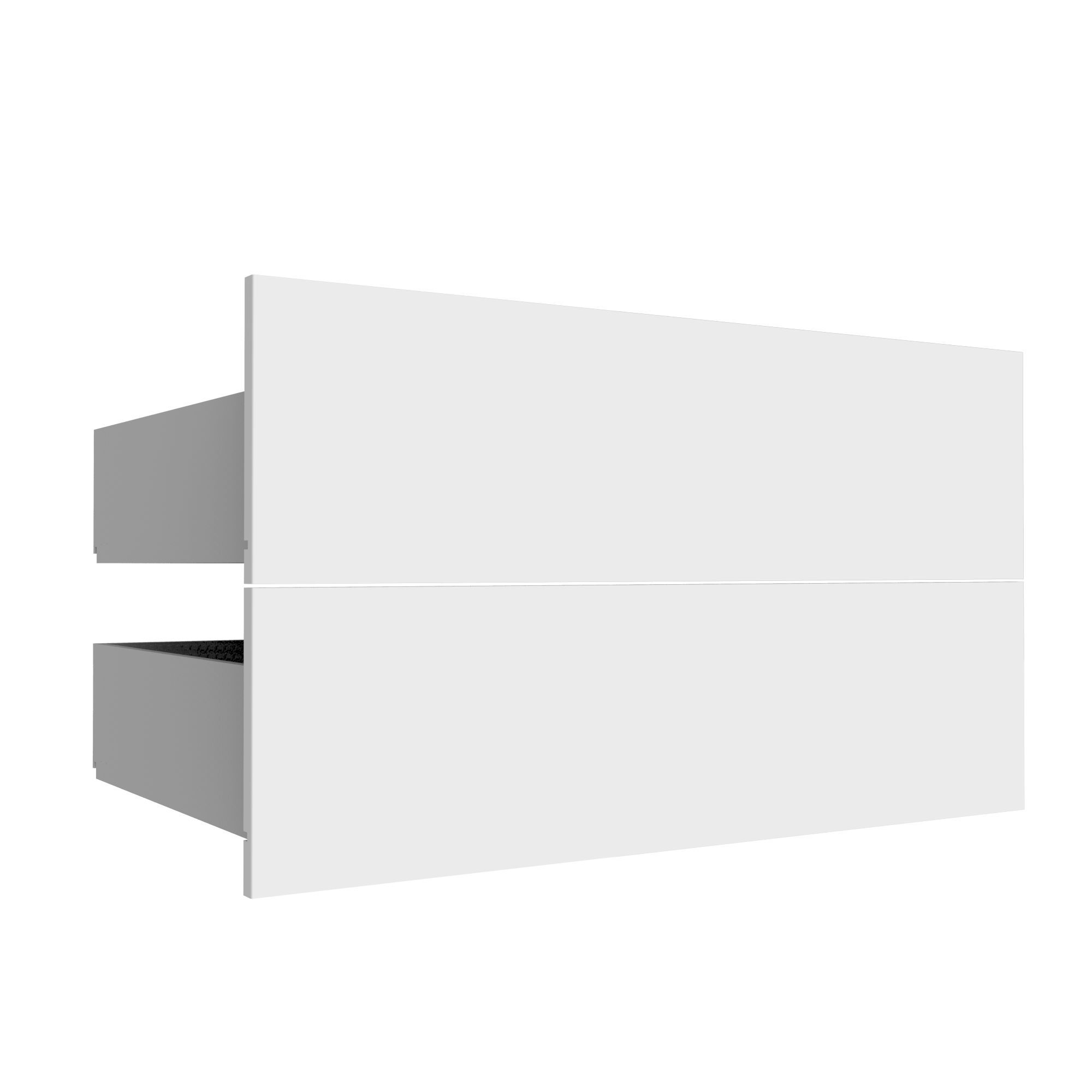 Darwin Modular White Midi Drawer (h)237mm (w)750mm