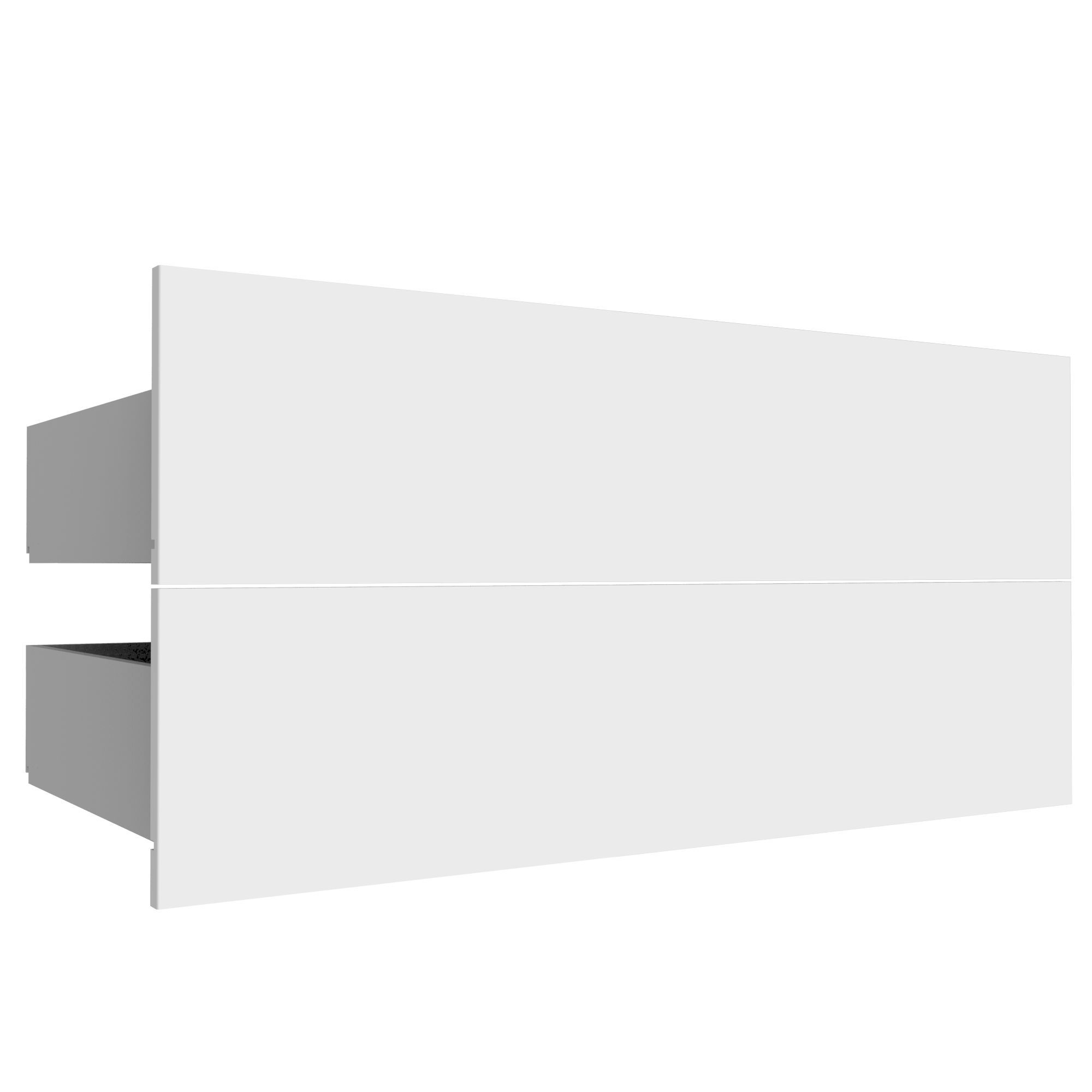 Darwin Modular White Drawer (h)237mm (w)1000mm