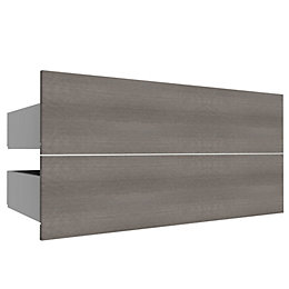 Darwin Modular Oak Effect Drawer (H)240mm (W)1000mm