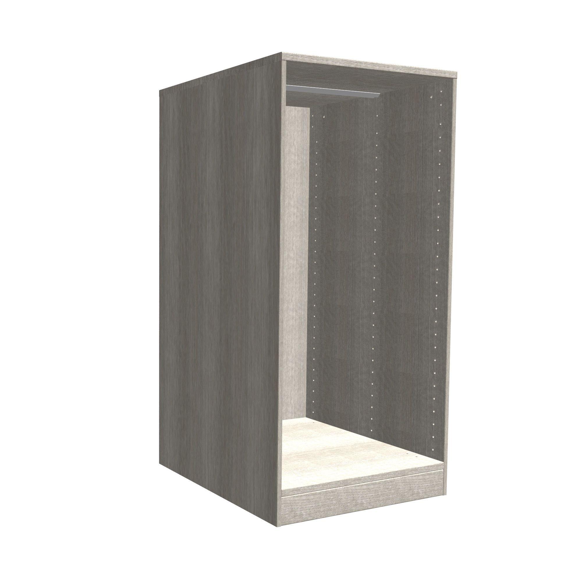 Darwin Modular Grey Oak Effect Chest Cabinet (h)1026mm (w)500mm (d)566mm