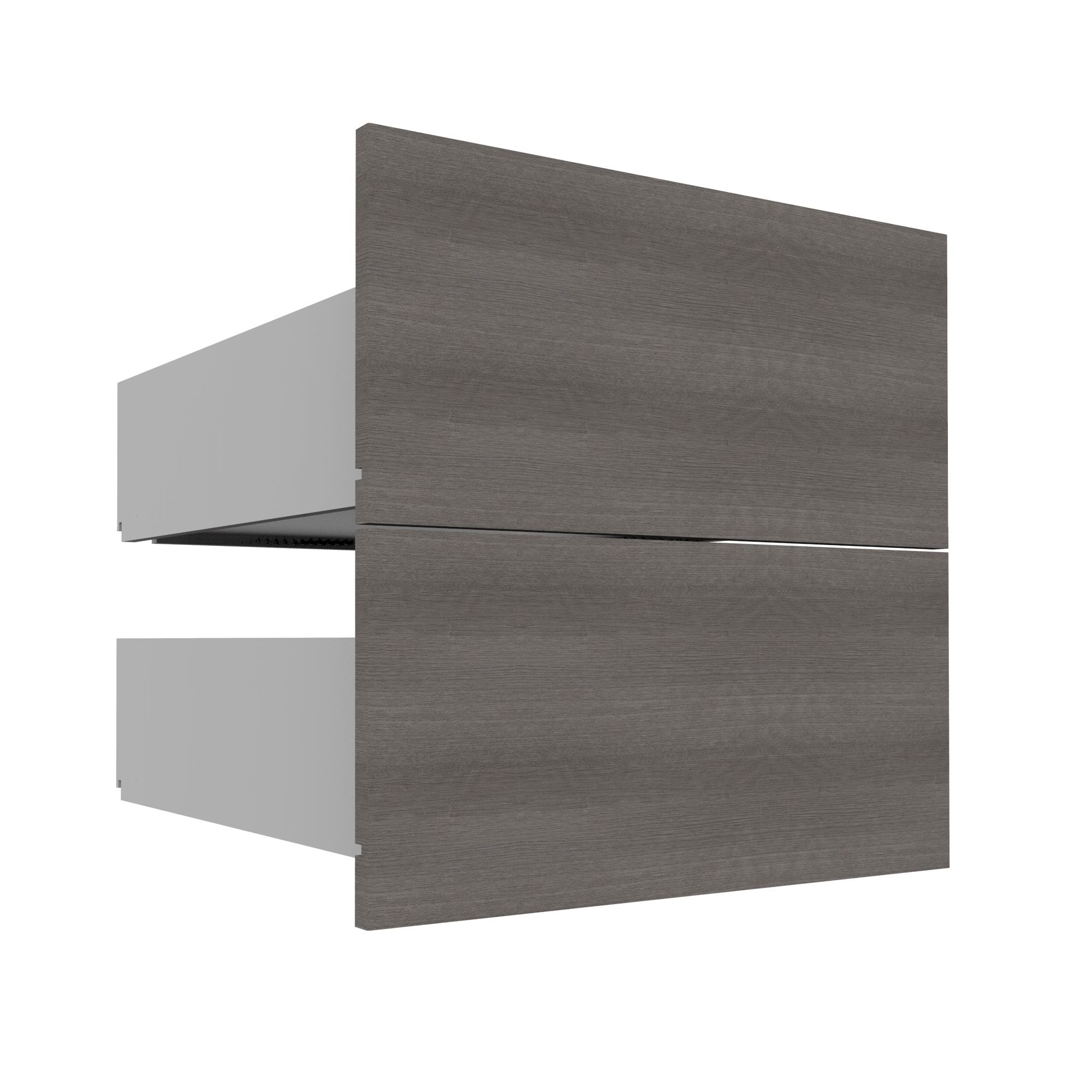 Darwin Modular Grey & Oak Effect Drawer (h)240mm (w)500mm (d)560mm