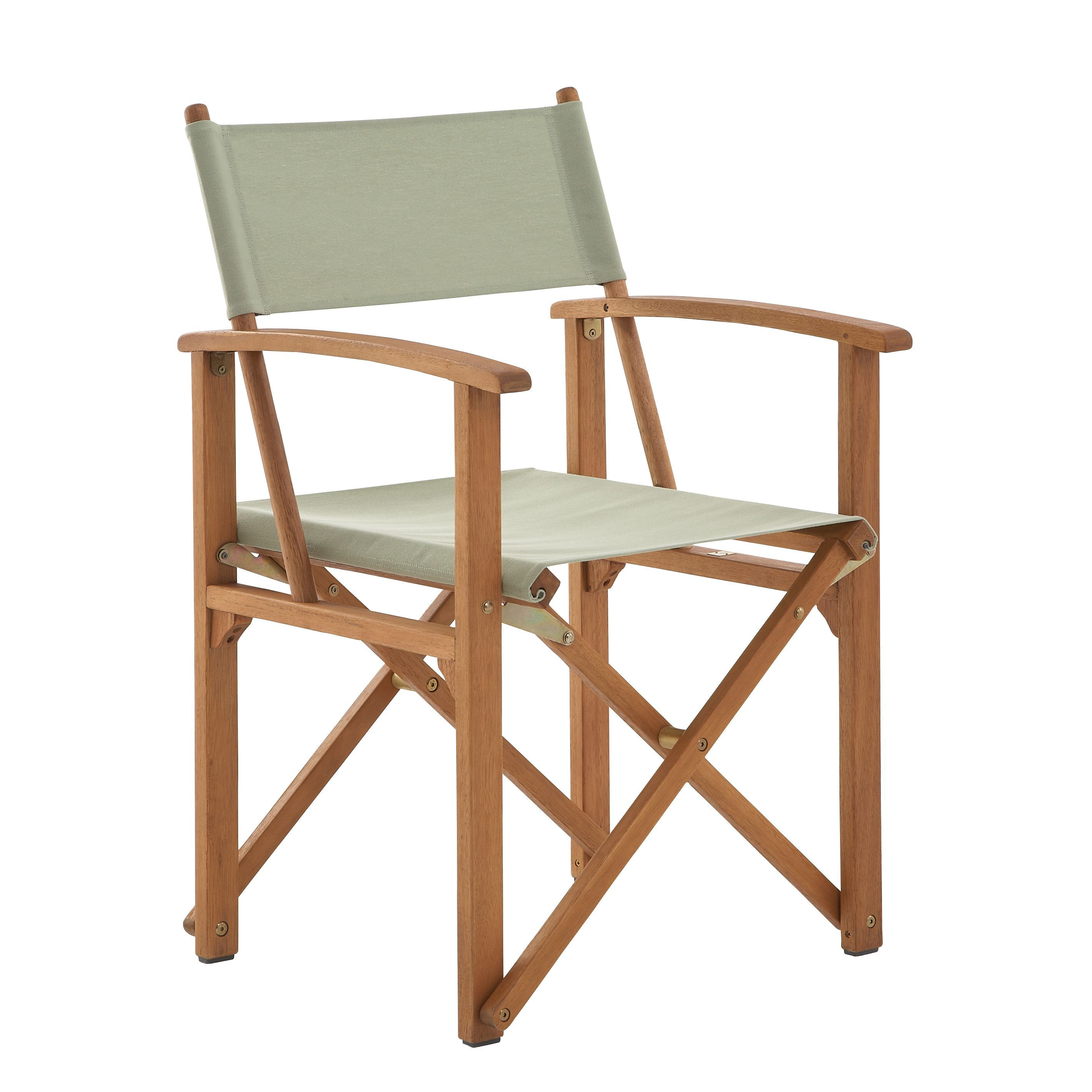 Wooden Directors Chairs aland wooden director chair | departments | diy at b&q