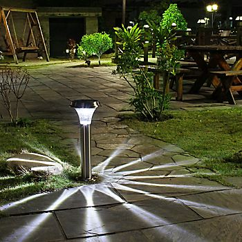 Blooma Libo Solar Powered Post Light
