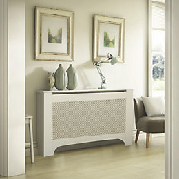 Mayfair Large White Painted Radiator Cover