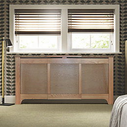 Mayfair Adjustable Medium - Large Oak Veneer Radiator