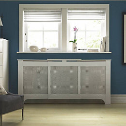 Mayfair Adjustable Medium - Large White Painted Radiator