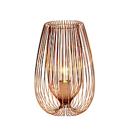 Jonas Copper Wire Table Lamp