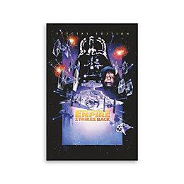 Star Wars The Empire Strikes Back Multicolour Canvas
