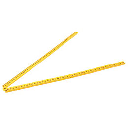 Mac Allister 1m Foldable Ruler