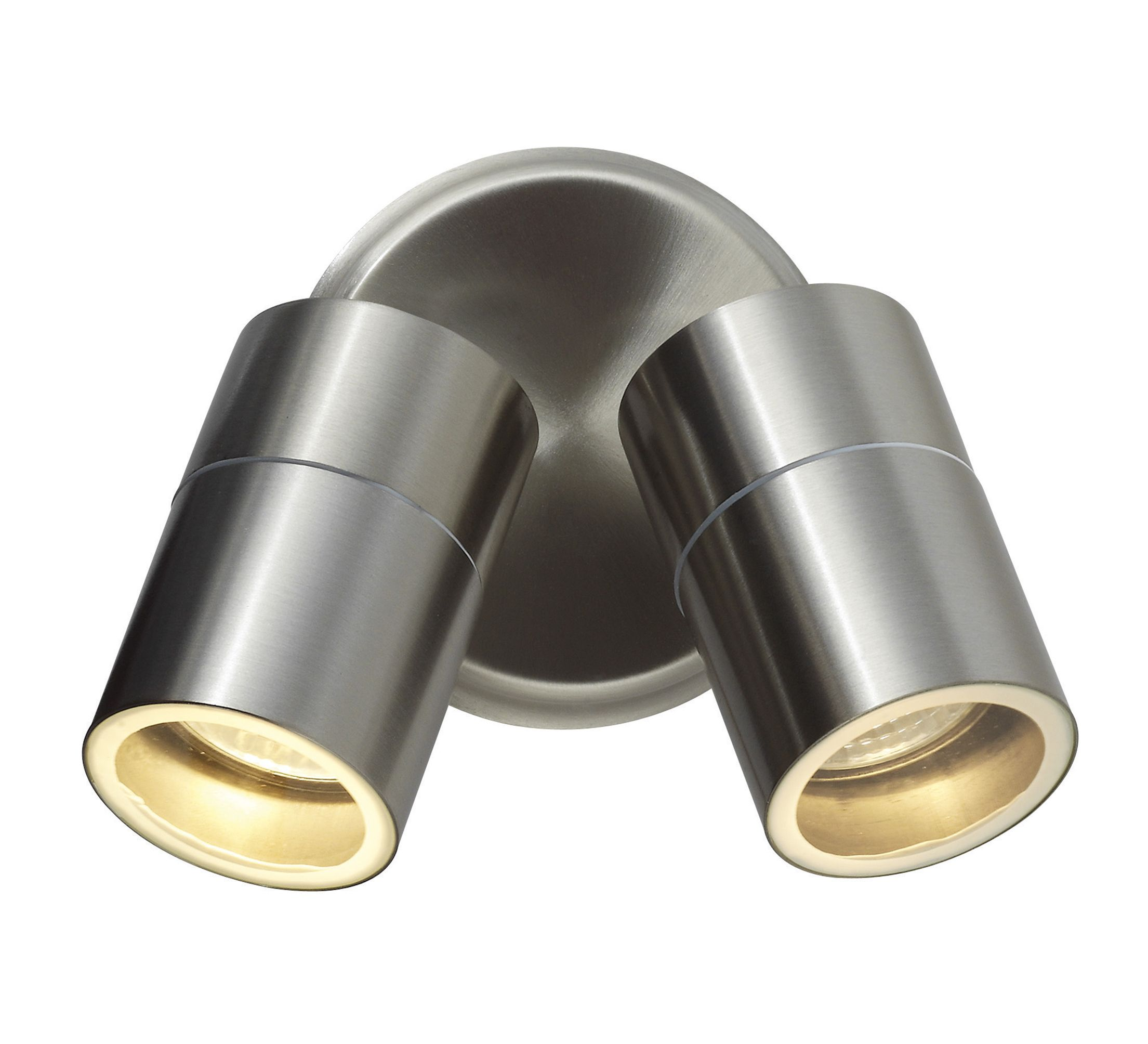 Blooma Somnus Stainless Steel Mains Powered External Wall Light