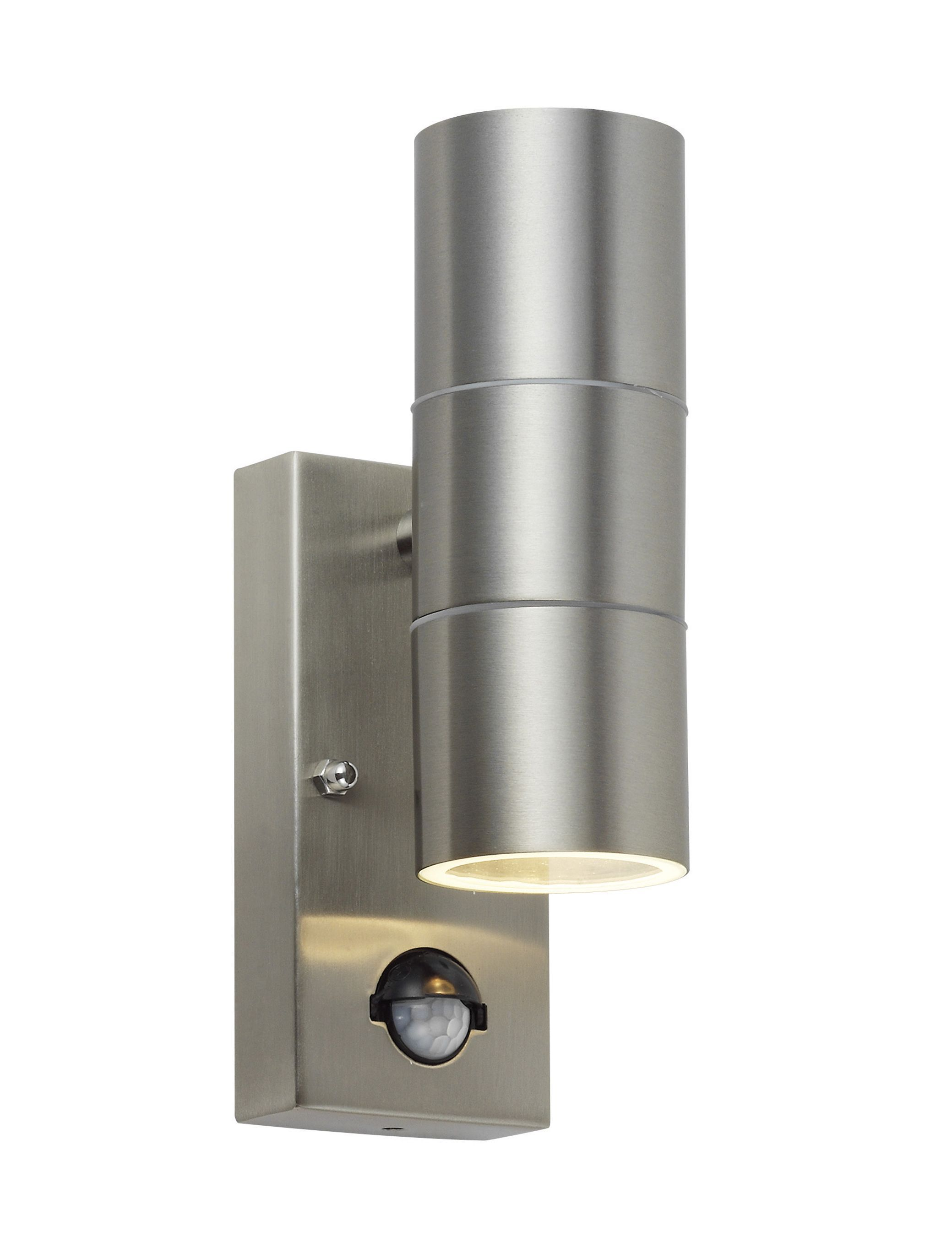 Blooma somnus 35w mains powered external pir wall light for Housse blooma